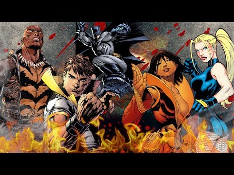 Top 30 Greatest DC Martial Artists
