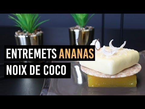 🍰-entremets-ananas-noix-de-coco-🍰