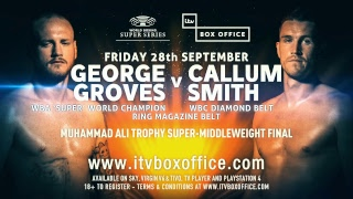 WBSS Pre-Fight Conference - Groves vs Smith