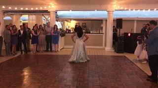 Mom and son dance in new york by Poonam Arora and Pankaj