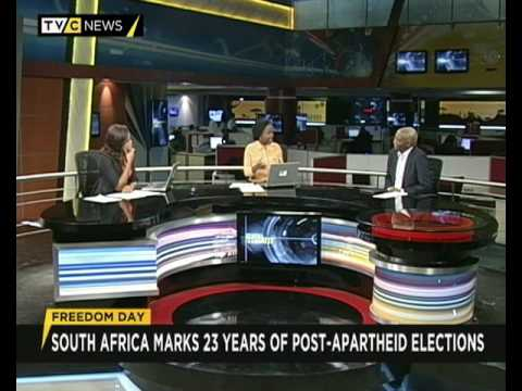 Clem Baiye shares his views S.Africa's celebration of 23yrs of post-apartheid election