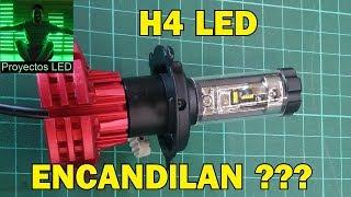 LED en autos (H4). Encandilan o deslumbran??? Video