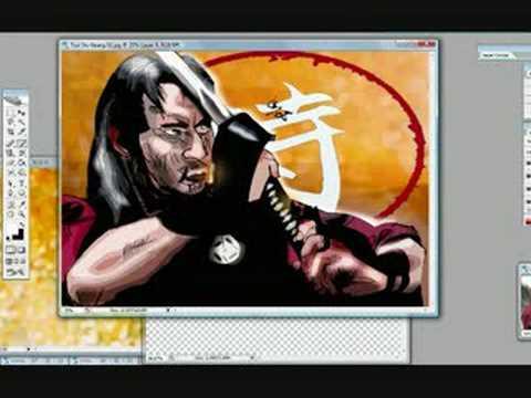 Tsui Sui Keung Samarai Speed Sketch_Alexbaxthedark...