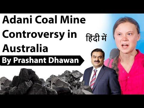 Adani Coal Mine Controversy In Australia Current Affairs 2019 #UPSC