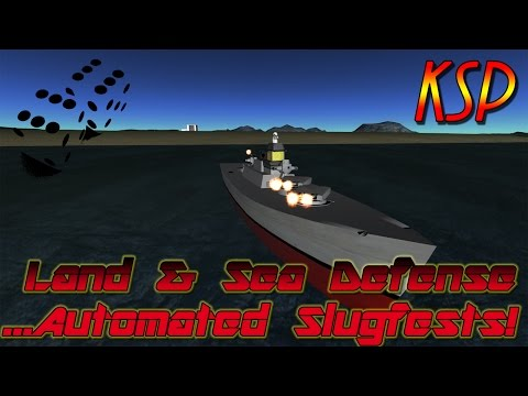 Skillful Land & Sea Defense - Automated Slugfests!