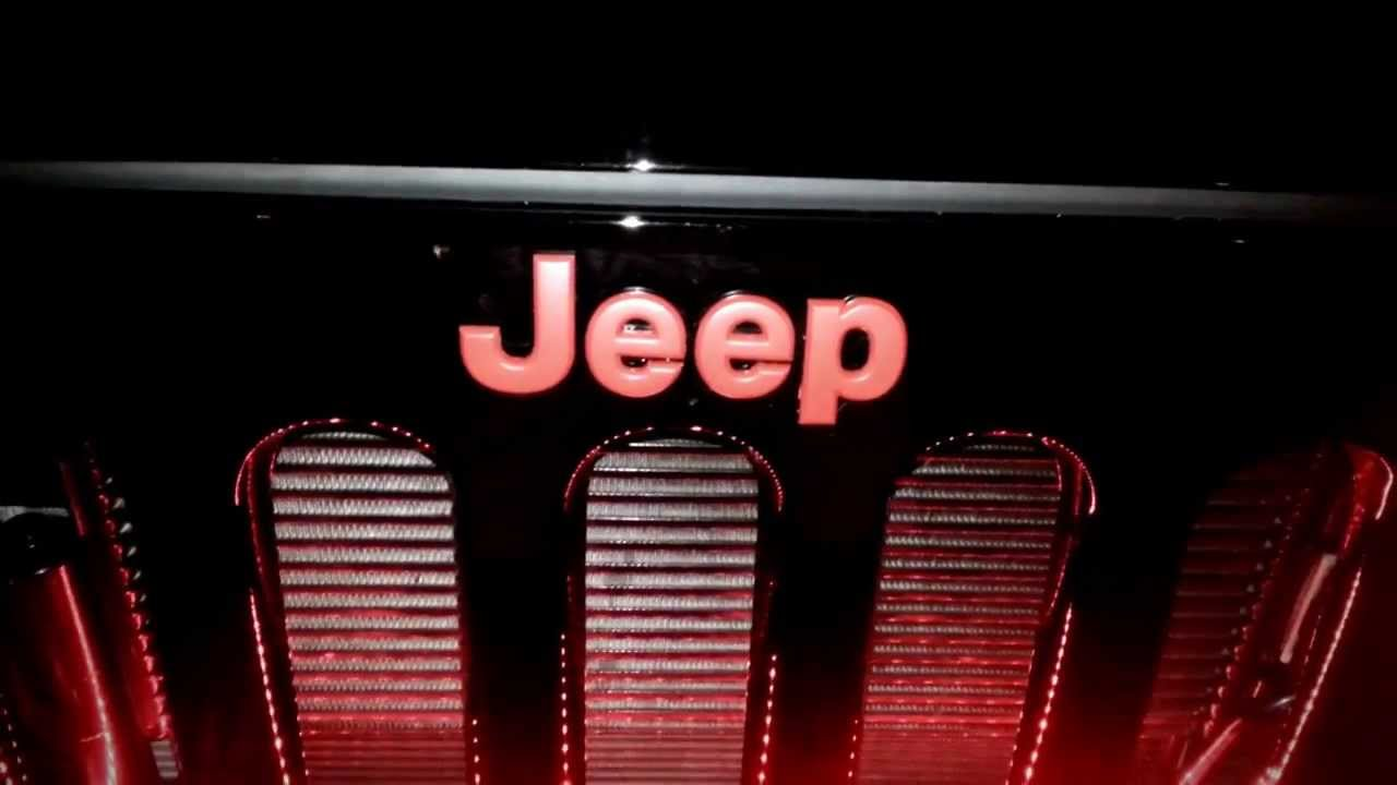 Custom Jeep Wrangler >> Oracle Lighting Jeep Wrangler customized by B.G.N. Customs ...