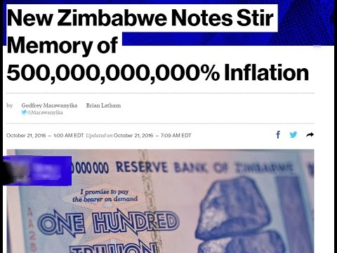 RTD News: New Zimbabwe Notes Stir Memory of 500,000,000,000% Inflation
