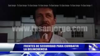 FRENTES DE SEGURIDAD PARA COMBATIR LA DELINCUENCIA