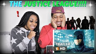 Justice League Comic-Con Trailer (2017) REACTION!!!!