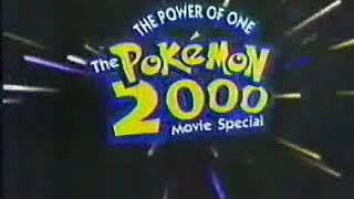 Pokemon - The movie 2000 Soundtrack [Live Performances] (The power of one Movie Special)