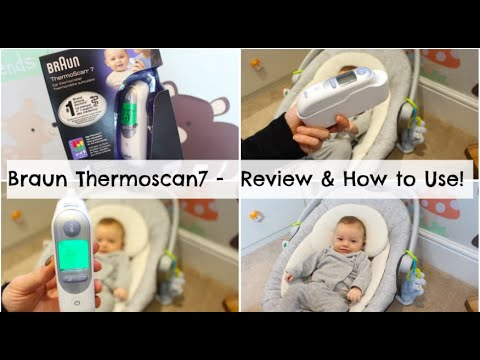 Thermometer Review - Braun ThermoScan® 7 With Age Precision® | Mummy Nutrition AD