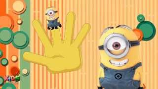 Finger Minions Nursery Rhyme for Children Babies