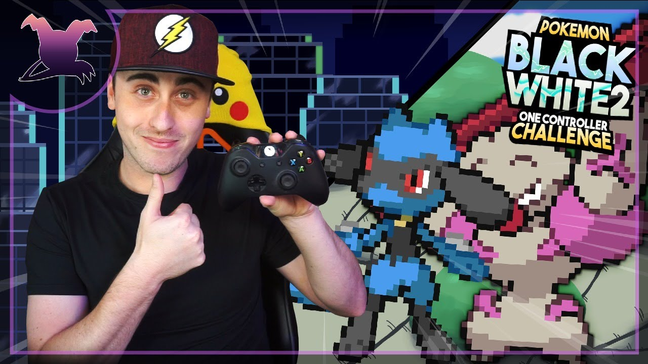 🔴I Am Exhausted  | Pokemon Black & White 2 One Controller Challenge EP 5