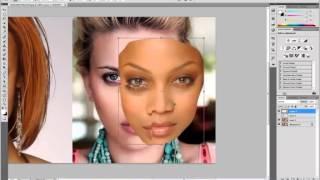 УРОКИ ФОТОШОПА  Самый быстрый фотомонтаж  замена лица в фотошопе