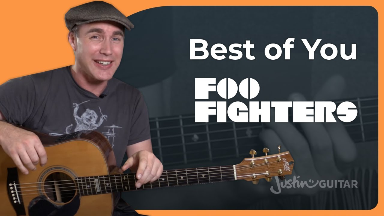 The Best Of You Foo Fighters Beginner Acoustic Guitar Lesson