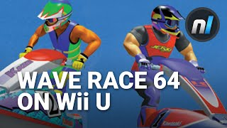 Wave Race 64 on Wii U Virtual Console Gameplay