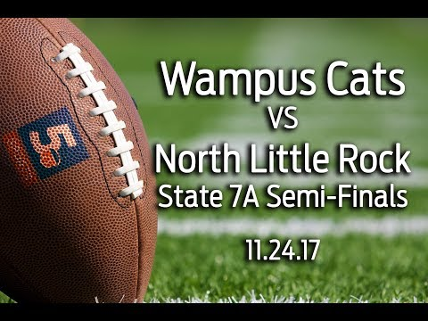 Conway Wampus Cats vs North Little Rock, 7A semi-finals