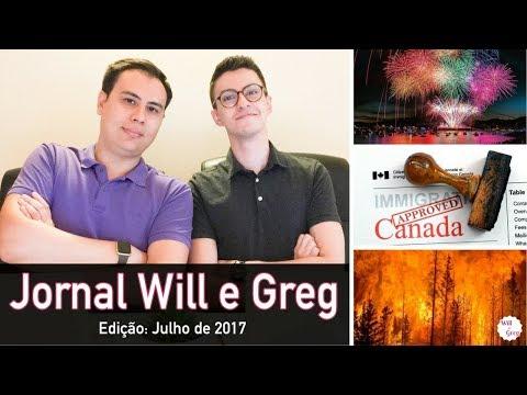 RECORDE NA IMIGRAÇÃO e INCÊNDIOS EM BC | Jornal Will e Greg | 1ª Edição