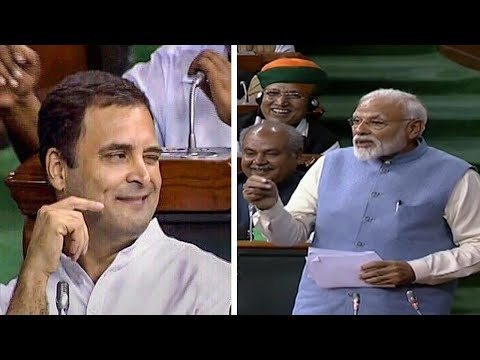 Narendra Modi again takes dig at Rahul Gandhi's infamous hug and wink act in Lok Sabha