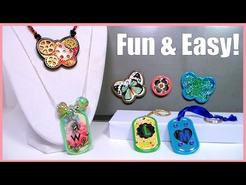 Fun & Easy Crafts with Kids! // Summer Camp Ideas // Gifts
