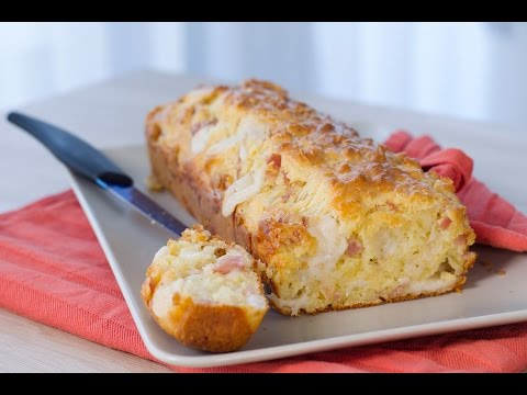 cake-chèvre-jambon