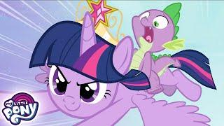 My Little Pony en español  La princesa Twilight Sparkle: parte 1 La Magia de la Amistad | Completo