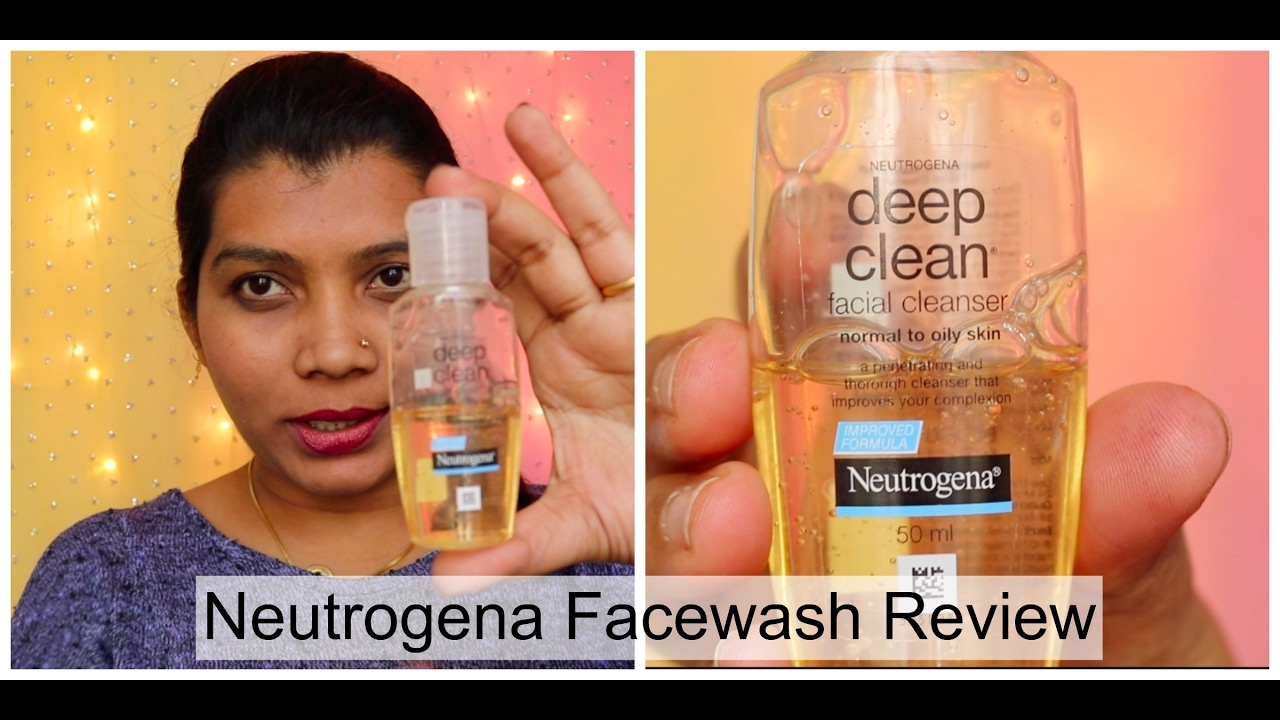 Neutrogena Deep Clean Face Cleanser Review