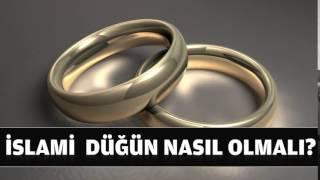İslami Düğün Nasıl Olmalı? - Fatih Medreseleri Yazı İşleri Kurulu