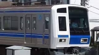 [警笛あり]西武6000系西武池袋線「新木場行き」小手指駅到着