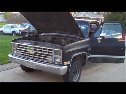 84 Silverado Interior Work Classic G Body Garage Youtube