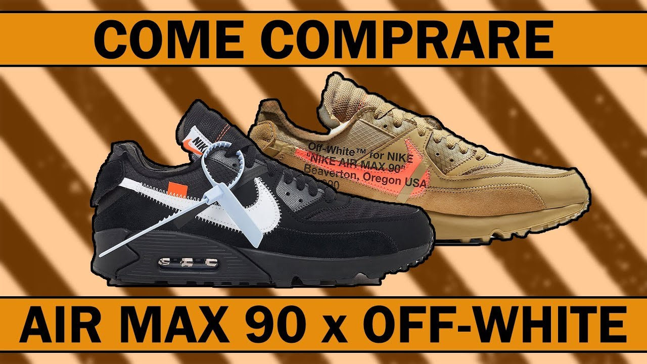 air max 90 per off white