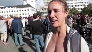 """Free the nipple"" i Malmö"