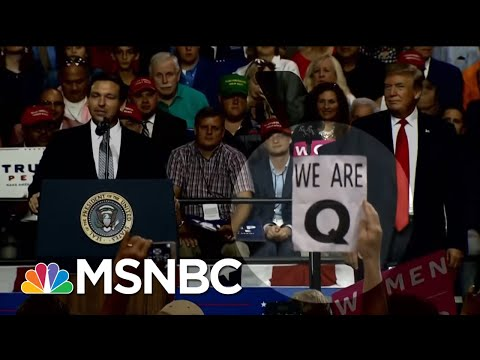 Who Is \'QAnon\'? Bizarre Conspiracy Cult Leaps From Web To Trump Rally | Hallie Jackson | MSNBC