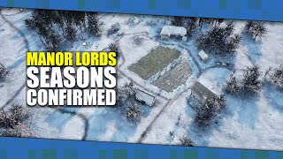 MANOR LORDS - SEASONS CONFIRMED And NEW Archer ANIMATIONS | RTS Made In UNREAL ENGINE [2020]