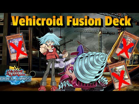 SUPER STRONG VEHICROID FUSION DECK | SYRUS TRUESDALE [Yu-Gi-Oh! Duel Links]