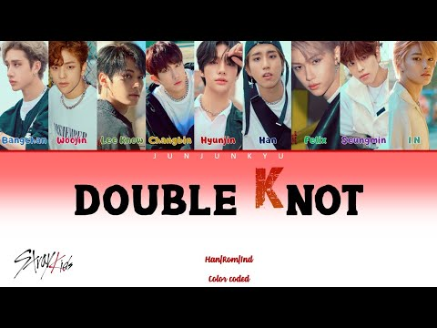 "[INDOSUB] Stray Kids ""Double Knot"" Color coded lyrics Han