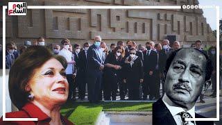 بشرها قبل دخولها القبر .. ملخص جنازة جيهان السادات ولهذا السبب طلبت الدفن مع زوجها