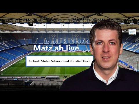 Matz ab nach dem HSV-Spiel Borussia Mönchengladbach