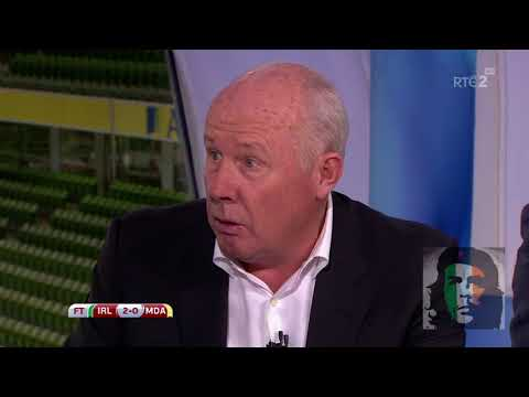 Ireland 2-0 Moldova post match analysis HD Brady, Duff, Sadlier