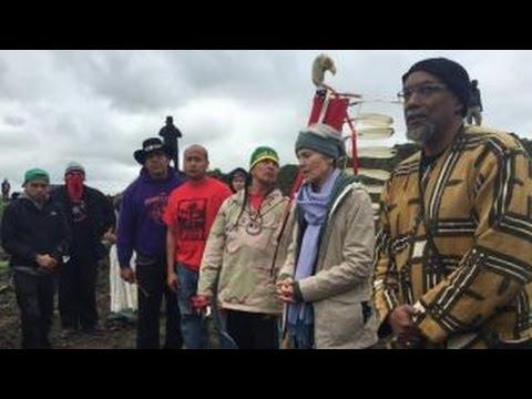 Dakota Access Pipeline protestors ordered to evacuate