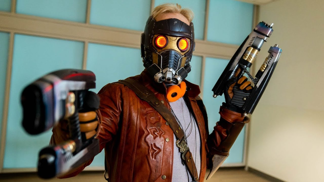Adam Savage Incognito Cosplaying as Star-Lord!