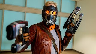 Adam Savage Incognito Cosplaying as StarLord!