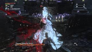Bloodborne - Yharnam, Pthumerian Queen Final Chalice Boss - Waste of Skin LVL 4