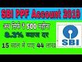 My SBI PPF Account 2019 Hindi ( Public Provident Fund PPF in SBI )