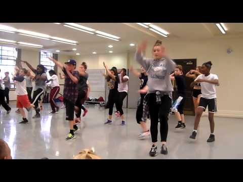 Groove On Down The Road-ZooNation Summer Academy 2014