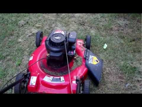 Lawn Mower Revs Up and Down