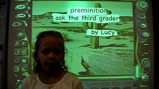 Ask a third grader   preminition