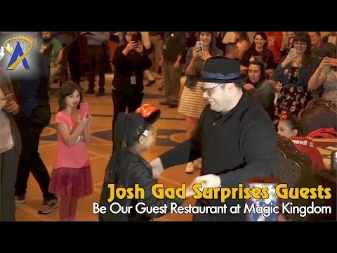 Thumbnail: Josh Gad surprises guests at Be Our Guest restaurant at Magic Kingdom