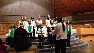 151219 Crowden Chamber Singers at CCL w/SFBC: John Rutter's Mary's Lullaby (arr. Betsy Marvit)