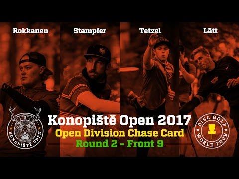 2017 Konopiště Open Chase Card Round 2 Front 9 (Rokkanen, Stampfer, Tetzel, Lätt)